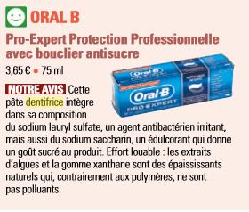 dentifrice  oral b